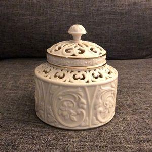 Lenox Illuminations Round Candlebox